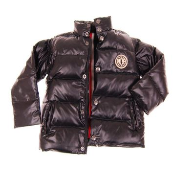 Black Baby Puffer Jacket-Vest by: Mini Shatsu