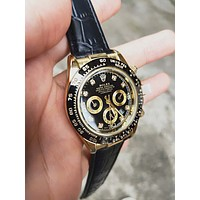 Rolex Popular Women Men Chic Business Movement Watch Wrist Watches