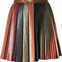 Marco De Vincenzo sparkly pleated skirt