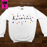 Heroine -- Women's Sweatshirt/Long-Sleeve