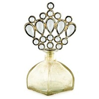 Antique White Bottle with Crown Jewel Top | Shop Hobby Lobby