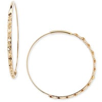14k Small Glam Magic Hoop Earrings - Lana