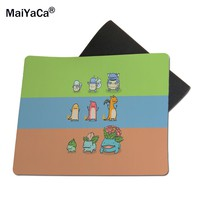 MaiYaCa Pokemon Evolution New Size Mouse Pad Rubber Pad 18*22cm and 25*29cm