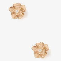 Abstract Flower Studs