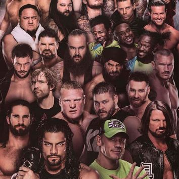 WWE Wrestling Superstars Poster 24x36