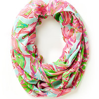 Lilly Pulitzer Riley Infinity Loop Scarf - In The Vias