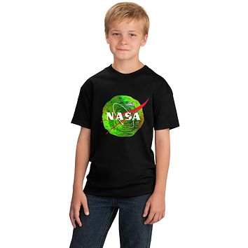 Rick and Morty Nasa Logo T-shirt