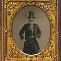 Wall Street Broker Tintype Photograph by Paul Ashby Antique Image - Wall Street Broker Tintype Fine Art Prints and Posters for Sale