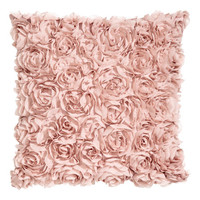 Chiffon Flower Cushion Cover - from H&M