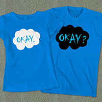 Couples Tees Okay Okay - The Fault in Our Stars T-Shirt - Color Available