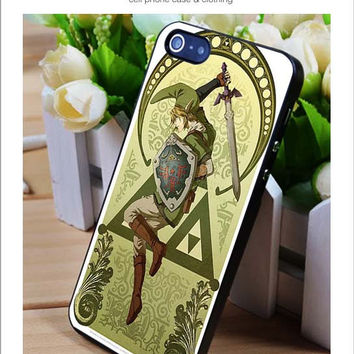 Legend of zelda art iPhone for 4 5 5c 6 Plus Case, Samsung Galaxy for S3 S4 S5 Note 3 4 Case, iPod for 4 5 Case, HtC One for M7 M8 and Nexus Case