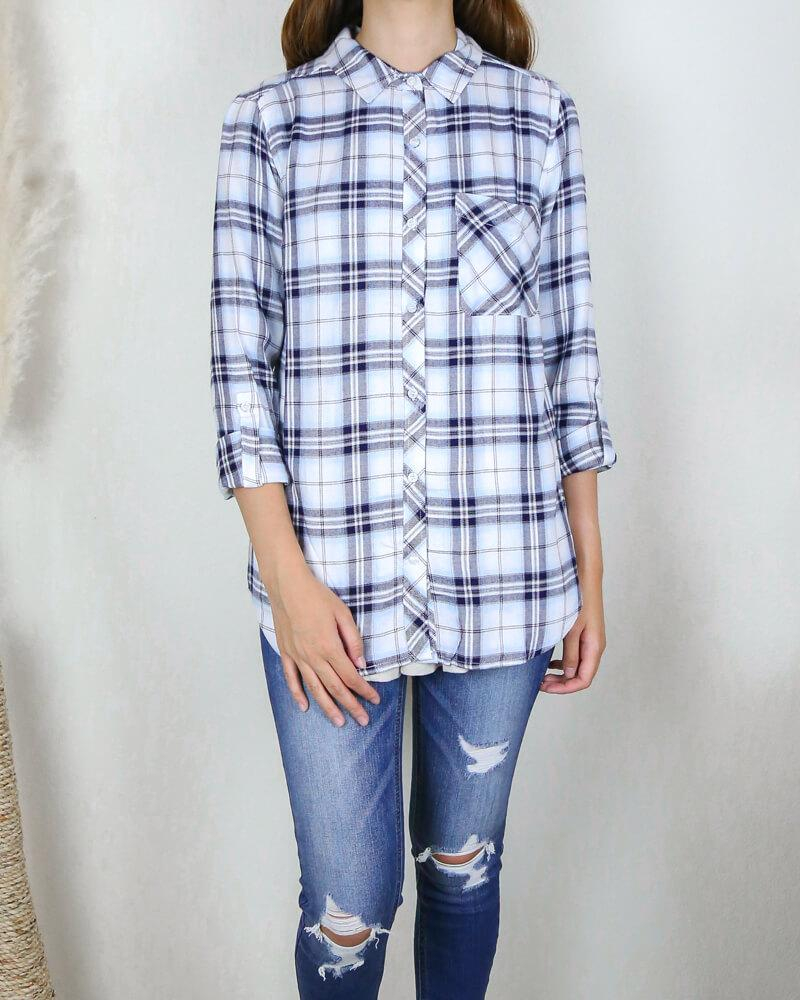 Image of Working at the Rails Button Up Plaid Shirt in More Colors