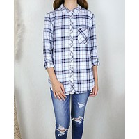 Working at the Rails Button Up Plaid Shirt in More Colors