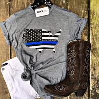 Back The Blue Graphic Tee