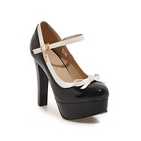 Women's Pumps Buckle Super High Heels Large Size