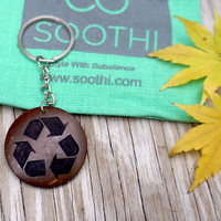 Recycle it! Keychain