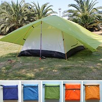 Hot sales double tent, double Layer Tents, outdoor camping, lovers 2 person Waterproof tent