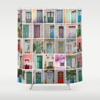 Door Collection Shower Curtain by Hello Twiggs