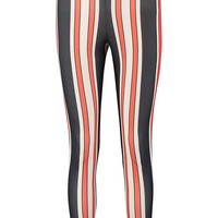 Bold Stripe Slim Fit Trousers | Boohoo