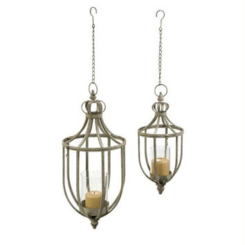 2 Candle Holders - Hanging