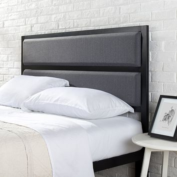 Upholstered Contemporary Style Headboard