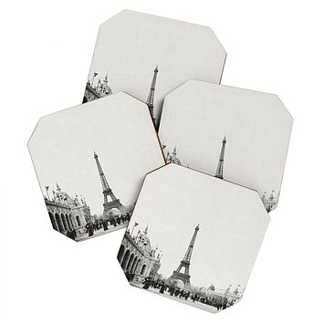 Bianca Green VINTAGE PARIS AROUND 1900 Coaster Set