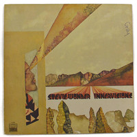 Vintage 70s Stevie Wonder Innervisions Gatefold Album Record Vinyl LP