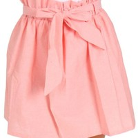 Let Your Love Flow Pink Bow Tie Skirt | Monday Dress Boutique