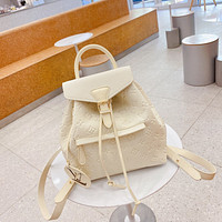 LV Louis Vuitton Shoulder Bag Lightwight Backpack Womens Mens Bag Travel Bags Suitcase Getaway Travel Luggage Daypack White