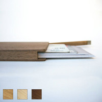 Wood Wallet- Magnetic Close