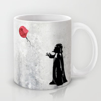 Little Vader - Inspired by Banksy Mug by Kamonkey