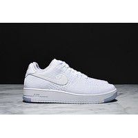 AIR FORCE 1 ULTRA FLYKNIT LOW - WHITE / WHITE AF1