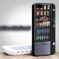 Snack Vending Machine cool awesome For Apple Phone, IPhone 4/4S Case, IPhone 5 Case, Cover Plastic