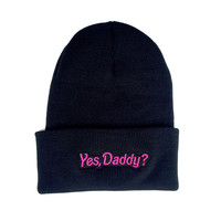 Yes Daddy Beanie