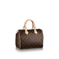 Louis Vuitton Monogram Canvas Speedy 25 M41109