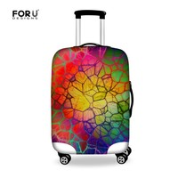 FORUDESIGNS Apply to 18~28'' Cases Suitcase Protector Cover Travel Accessories Elastic Thick Luggage Protective Cover Dust Cover