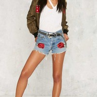 After Party by Nasty Gal Mother Rose Levi's 505 Cutoff Shorts