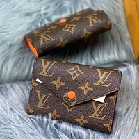 Louis Vuitton LV hot sale fashion men and women mini coin purse key case