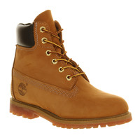 Timberland Premium 6 Boot Wheat Nubuck - Ankle Boots