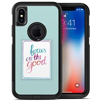 Focus on the Good - iPhone X OtterBox Case & Skin Kits