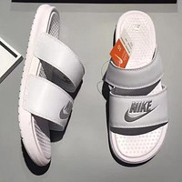 Nike Woman Men Fashion Casual Multicolor Sandals Slipper Shoes