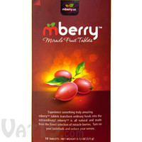 Mberry Miracle Berry Fruit Tablets: Turns sour foods sweet