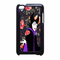 Malficient Disney Floral Vintage iPod Touch 4th Generation Case