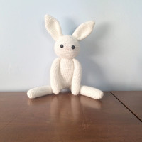 Bunny Stuffed Toy - Crochet Amigurumi - Amigurumi Rabbit - Rabbit Doll - Crocheted Stuffed Animals - Stuffed Bunny - Easter Bunny Gift