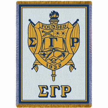 Sigma Gamma Rho 2 Throw Blanket