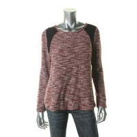 Sanctuary Clothing Womens Knit Marled Sweater