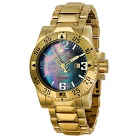 Invicta Reserve Collection Excursion 18kt Gold-plated Mens Watch 6243