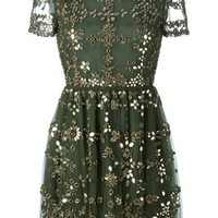 Valentino Embellished Tulle Dress - -renaissance- - Farfetch.com