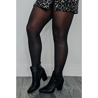 Forever In Fashion Tights: Black