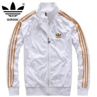 "Fashion ""Adidas"" long sleeve zipper jacket"